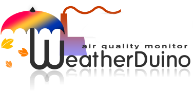 WeatherDuino Air Quality Monitor