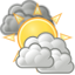 Mainly cloudy. Turning cooler. High 18C. Winds SSE at 15 to 25 km/h.