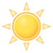Sunny. High 16C. Winds NW at 10 to 15 km/h.